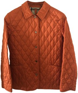 Burberry Quilted orange Jacket