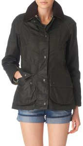 Barbour Beadnell Waxed Green Sage Jacket