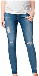 AG Adriano Goldschmied AG distressed maternity jean. 26 Regular