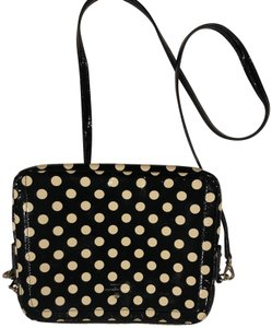 Kate Spade Polka Dot Black and White Clutch