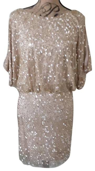 Item - Gold Sequin 054441070 Short Cocktail Dress Size 2 (XS)