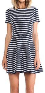 Theory short dress striped on Tradesy