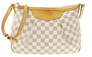 Louis Vuitton Hobo Canvas Shoulder Bag