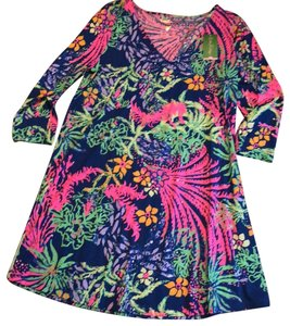 Lilly Pulitzer short dress Multi All A Glow on Tradesy