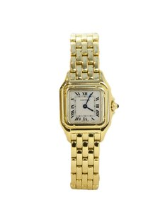 Cartier Cartier 18k Yellow Gold Small Panthere de Cartier Watch