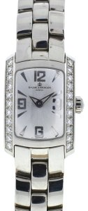 Baume & Mercier Baume & Mercier Stainless Steel Diamond Bezel Ladies Watch