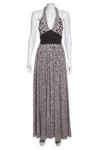 Black & White Maxi Dress by Dolce&Gabbana