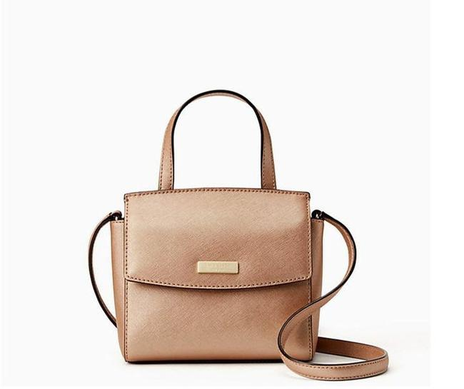 Item - Alisanne Laurel Way Mini Rose Gold Leather Cross Body Bag