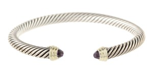 David Yurman David Yurman Amethyst Cable Bracelet 5mm