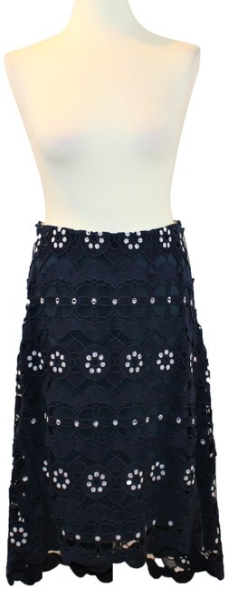 Preload https://img-static.tradesy.com/item/24165463/chloe-navy-blue-hi-low-skirt-size-8-m-29-30-0-1-650-650.jpg