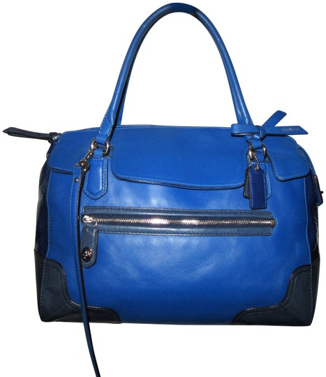 Preload https://img-static.tradesy.com/item/24165494/coach-poppy-color-victorian-blue-leather-satchel-0-1-540-540.jpg