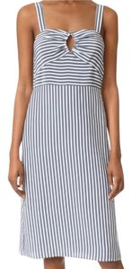 Jenni Kayne short dress blue & white on Tradesy