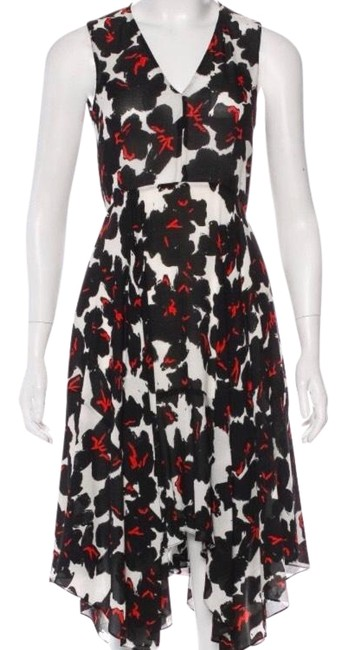 Preload https://img-static.tradesy.com/item/24165525/alc-black-white-and-red-nico-floral-print-mid-length-short-casual-dress-size-4-s-0-1-650-650.jpg