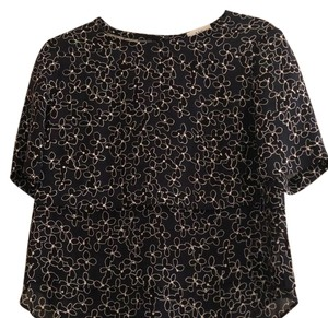 A.L.C. Top navy, black and white