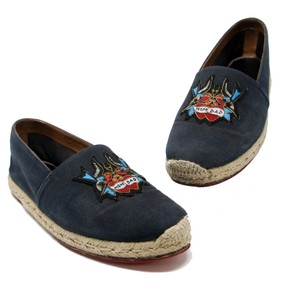 b5519dce361f Christian Louboutin Very Prive So Kate Monogram Fashion Week Homme Navy  Blue Flats