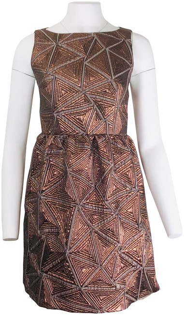 Preload https://img-static.tradesy.com/item/24165601/alice-olivia-copper-lilyanne-short-casual-dress-size-4-s-0-1-650-650.jpg