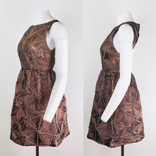 Alice + Olivia short dress Copper on Tradesy