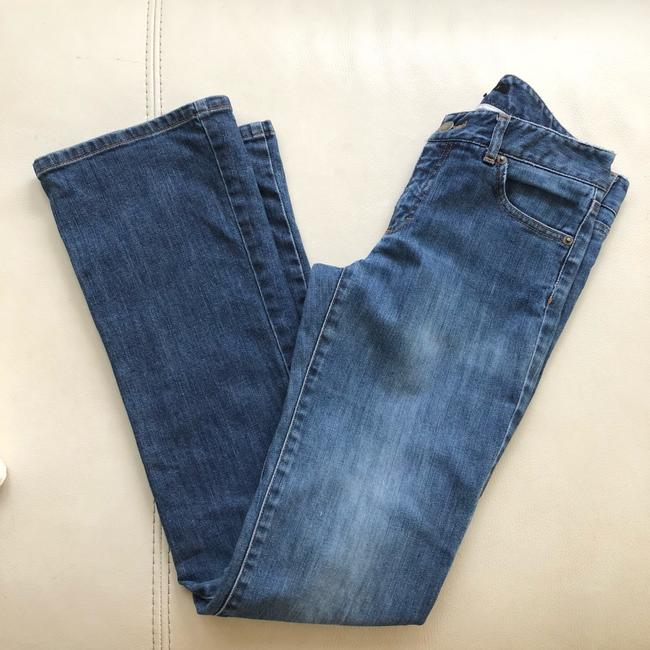Theory Flare Leg Jeans-Distressed