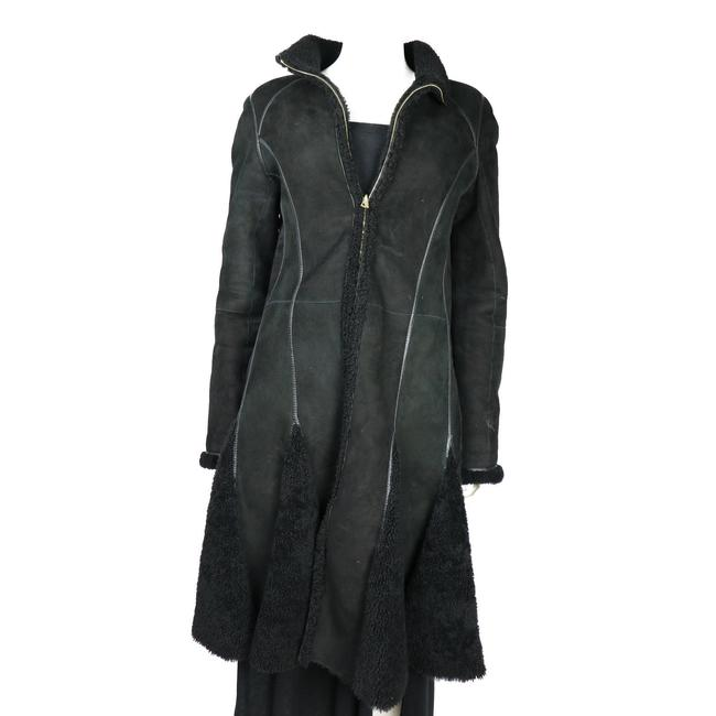 Preload https://img-static.tradesy.com/item/24165631/j-mendel-black-shealing-and-long-jacket-coat-size-6-s-0-0-650-650.jpg