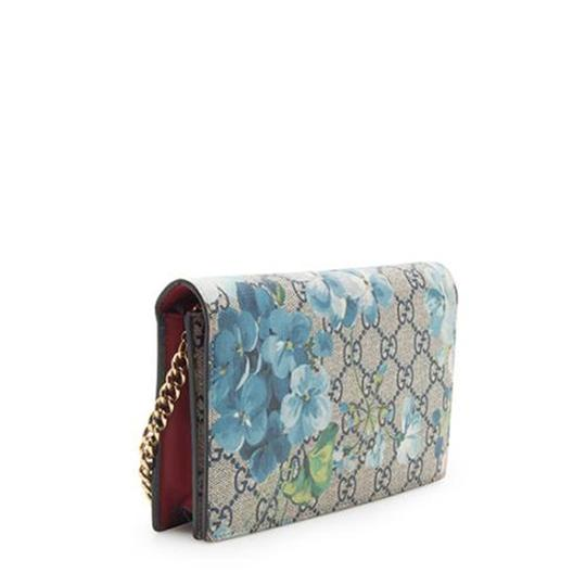 Gucci Blooms Wallet On Chain Woc Cross Body Bag