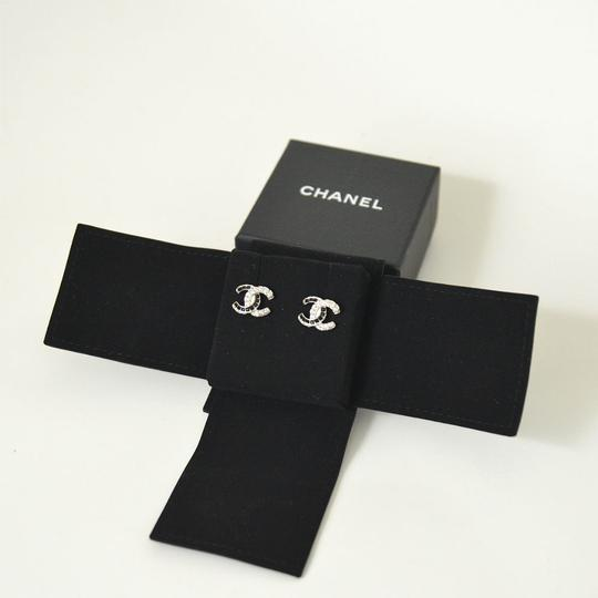 Chanel Crystal CC with Black and White Rinestone