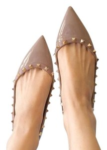 Valentino poudres( nude) Flats