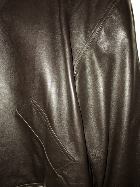 Carlisle Leather Brown Blazer
