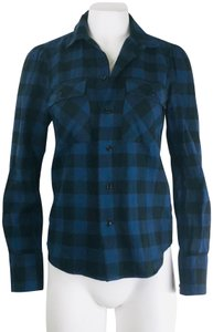 Rugby Ralph Lauren Button Down Shirt Blue