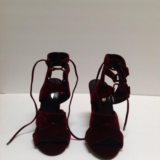 Halogen Burgundy Sandals