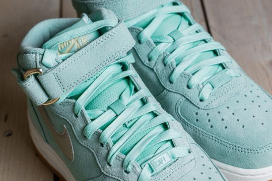 Nike Suede mint green Athletic