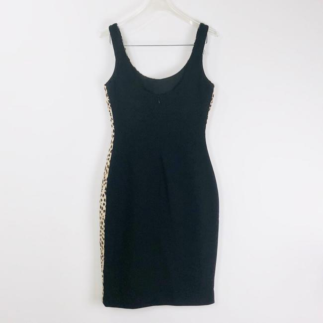 Diane von Furstenberg short dress Black/Cream on Tradesy
