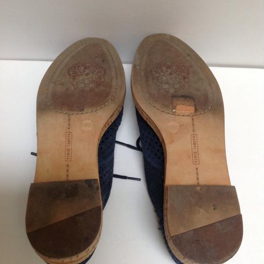 Vince Camuto Navy Blue Flats