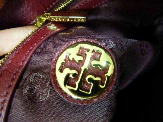Tory Burch Tote in Wine Red