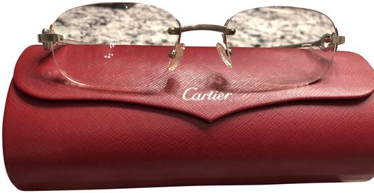 Preload https://img-static.tradesy.com/item/24165841/cartier-silver-frame-sunglasses-0-1-540-540.jpg