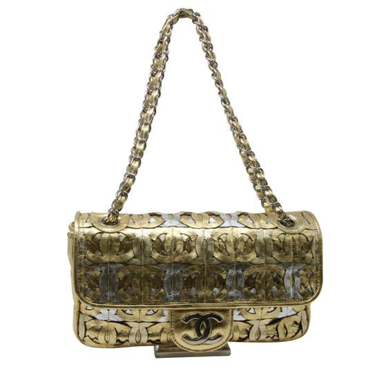 Chanel Boy Caviar Quilted Double Flap Rare Gem Shoulder Bag