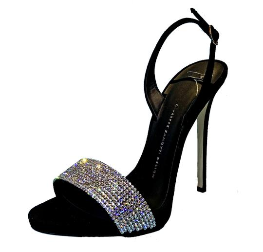 Preload https://img-static.tradesy.com/item/24165919/giuseppe-zanotti-black-diamond-crystal-embellished-vamp-suede-slingback-sandals-size-eu-39-approx-us-0-0-540-540.jpg