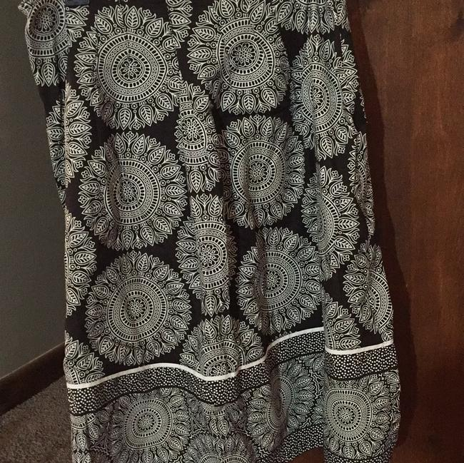 East 5th Essentials Skirt brown and white