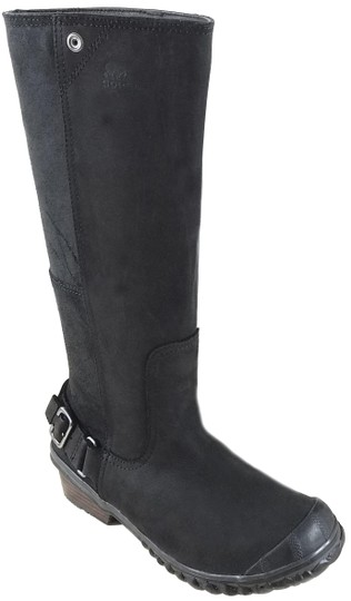 Preload https://img-static.tradesy.com/item/24165988/sorel-black-grill-slimboot-bootsbooties-size-us-75-regular-m-b-0-1-540-540.jpg