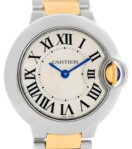 Cartier Cartier Ballon Bleu Steel Yellow Gold Small Watch W69007Z3 Box Papers