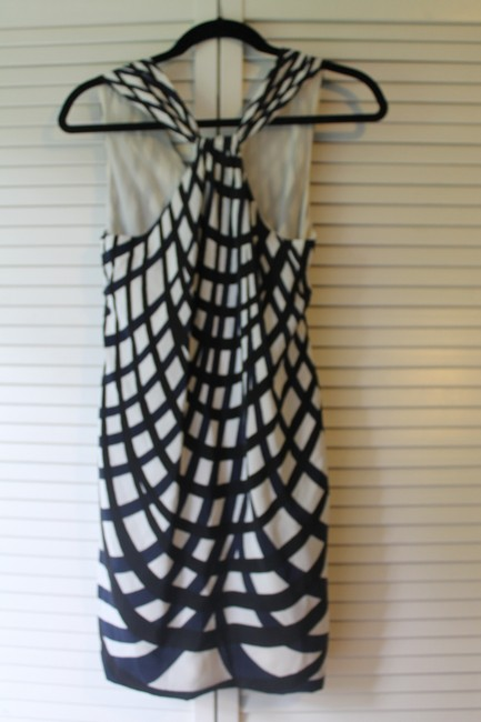 Theory short dress black and blue on Tradesy