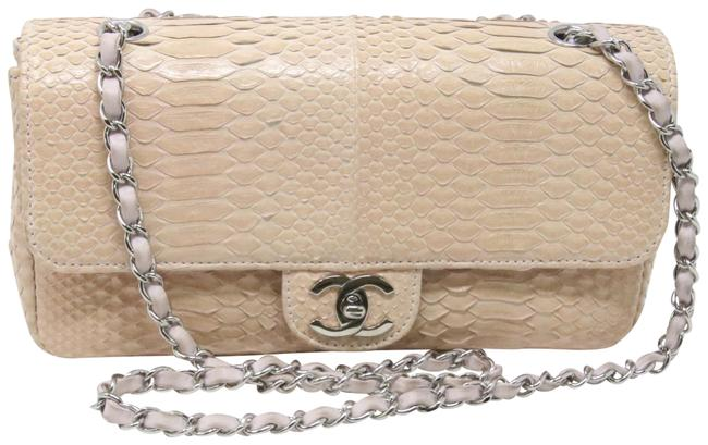 Chanel Classic Flap Classic Cc Small Classic Single Lilac Python Skin Leather Shoulder Bag Chanel Classic Flap Classic Cc Small Classic Single Lilac Python Skin Leather Shoulder Bag Image 1