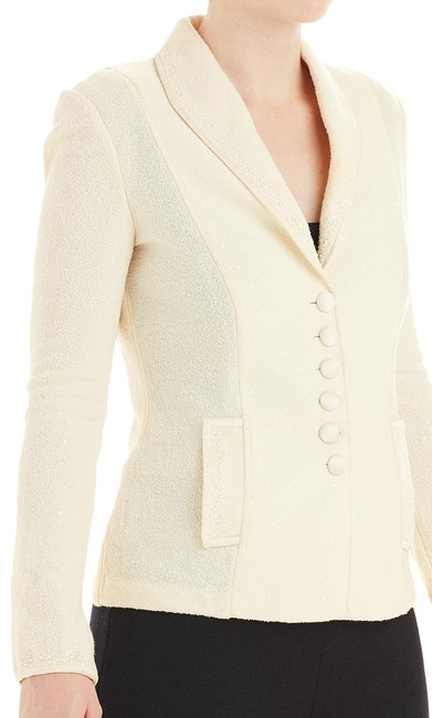 Preload https://img-static.tradesy.com/item/24166035/st-john-cream-pearl-and-crystal-trim-novelty-knit-jacket-2-75977-blazer-size-2-xs-0-1-650-650.jpg