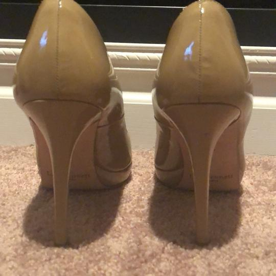 L.K. Bennett tan Pumps