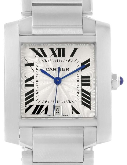 Preload https://img-static.tradesy.com/item/24166073/cartier-silver-tank-francaise-dial-stainless-steel-w51002q3-watch-0-1-540-540.jpg