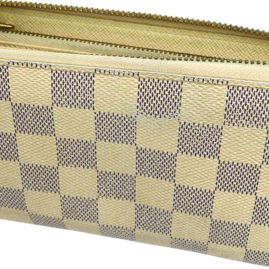 Louis Vuitton Louis Vuitton Zippy Wallet Damier Azur