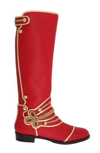 Preload https://img-static.tradesy.com/item/24166122/dolce-and-gabbana-red-leather-gold-studs-bootsbooties-size-us-95-regular-m-b-0-0-540-540.jpg