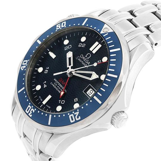 Omega Omega Seamaster Bond 300M GMT Steel Watch 2535.80.00 Box Cards