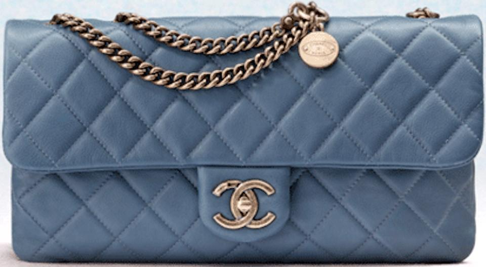 7d2fba9d5872 Chanel Cc Crown Flap Classic Quilted Medium Small 13c Charm Logo ...