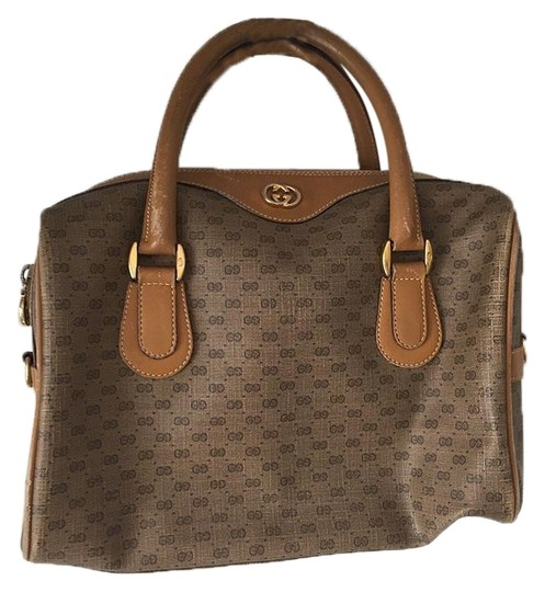 Preload https://img-static.tradesy.com/item/24166860/gucci-boston-bag-monogrammed-vintage-brown-tote-0-1-540-540.jpg