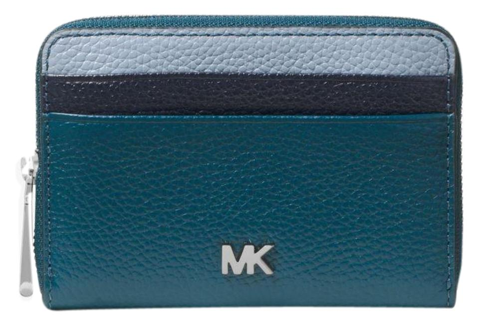 31f1dc63ae21 Michael Kors Leather Wallet Teal Multi 32t8sf6z0t Wristlet in Luxe  teal Multi Image 0 ...